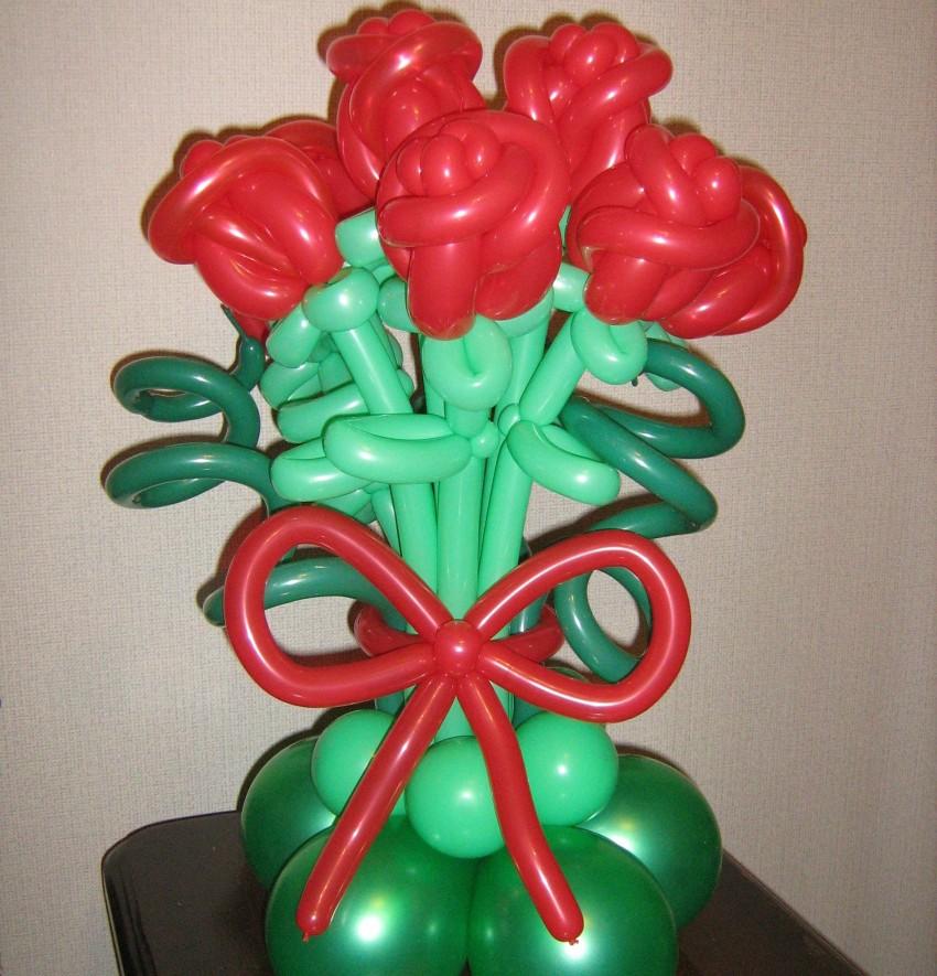 Схемы фигур из воздушных шаров