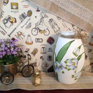 Декупаж вазы — мастер-класс и советы по декоративному оформлению ваз своими руками (100 фото)