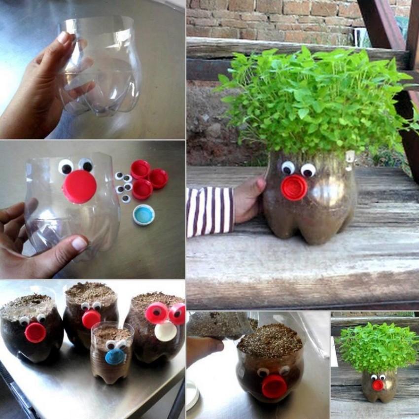Идеи для цветочных горшков