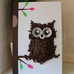 Кофейные поделки: пошаговая инструкция как сделать красивые украшения из кофейных зерен своими руками (110 фото)