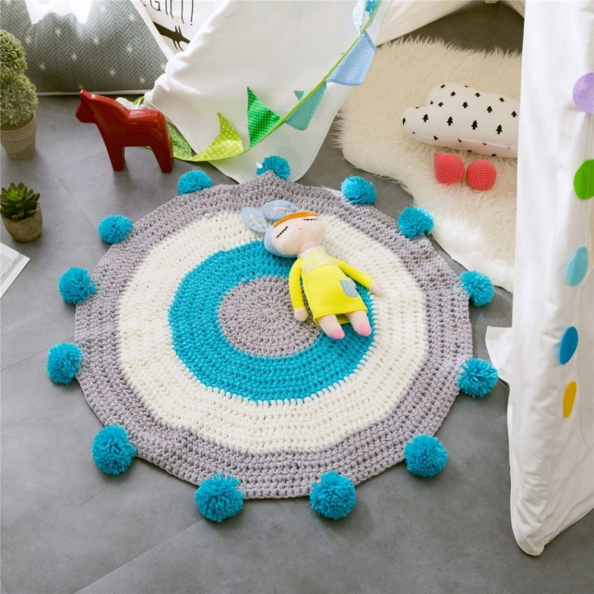 Коврики своими руками - пошаговая инструкция как сделать коврик просто и быстро из подручных материалов