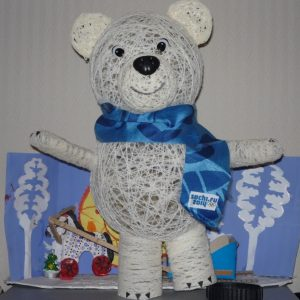 Поделка медведь своими руками: как и из чего можно сделать детскую игрушку (90 фото и видео)