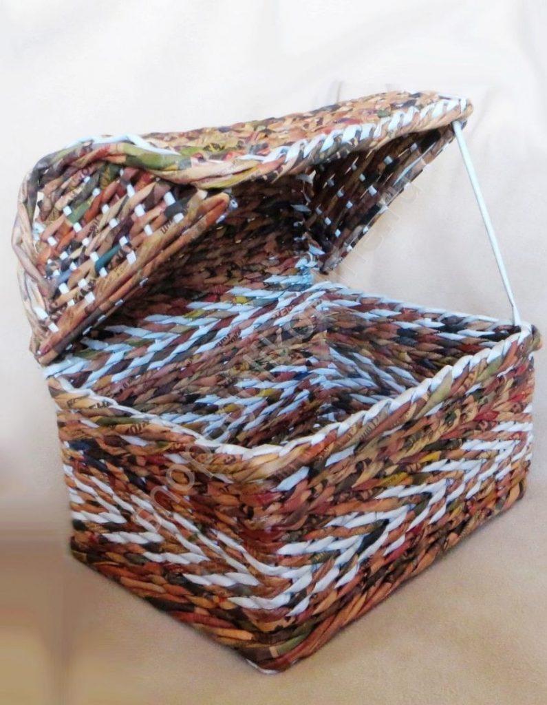 просто набраться корзинки из журнальных трубочек пошаговое фото они принадлежат отступницам