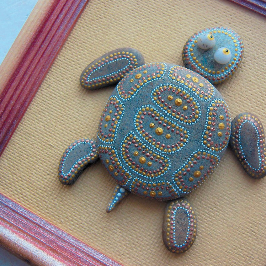 Поделки из камней - 73 фото идеи красивых изделий из камней