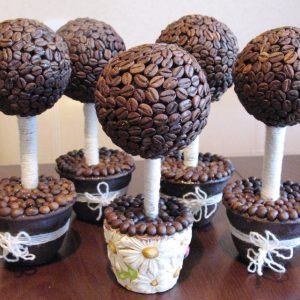 Поделки из кофе своими руками — пошаговое описание как реализовать креативные идеи для ароматных поделок (125 фото)
