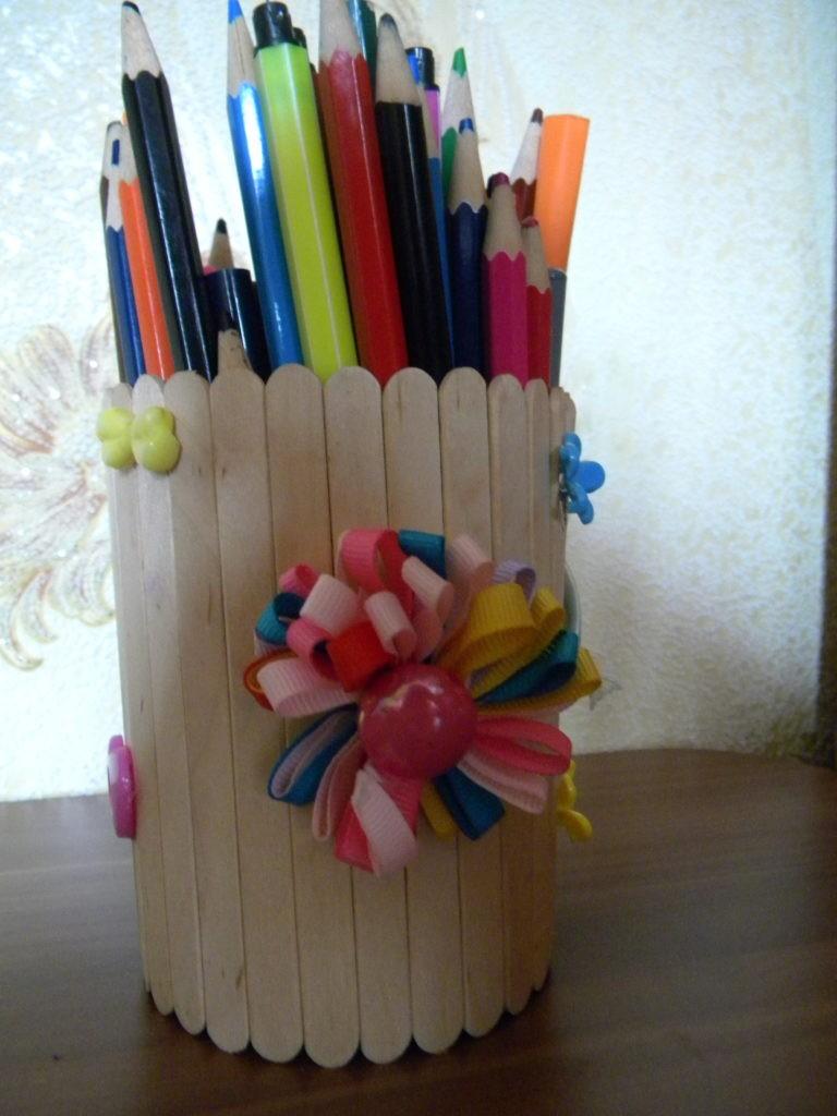 Поделки из карандашей своими руками картинки
