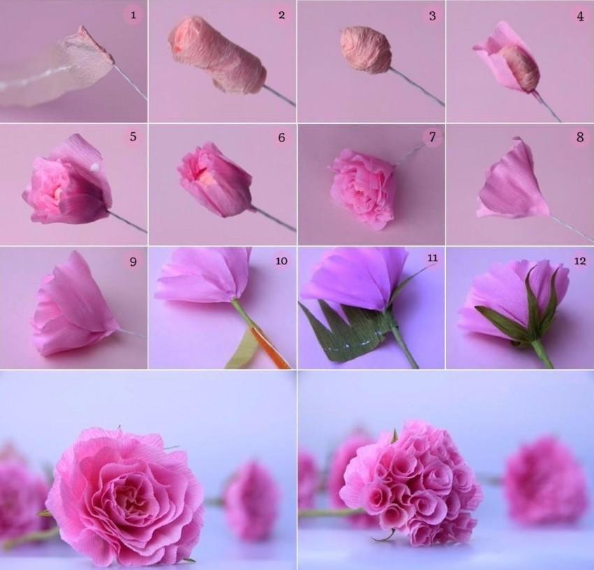 Как из салфеток сделать цветы на открытку из, красотка картинки