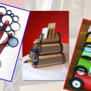 Поделки из туалетных втулок: самые интересные идеи игрушек для детей и советы по созданию стильных украшений