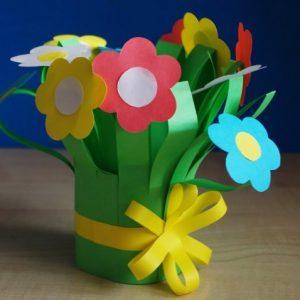 Поделки на 8 марта — красивые идеи и оригинальные подарки своими руками. 115 фото лучших цветов для начинающих
