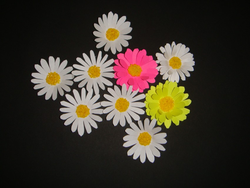 Поделки цветы картинки, малышке открытки