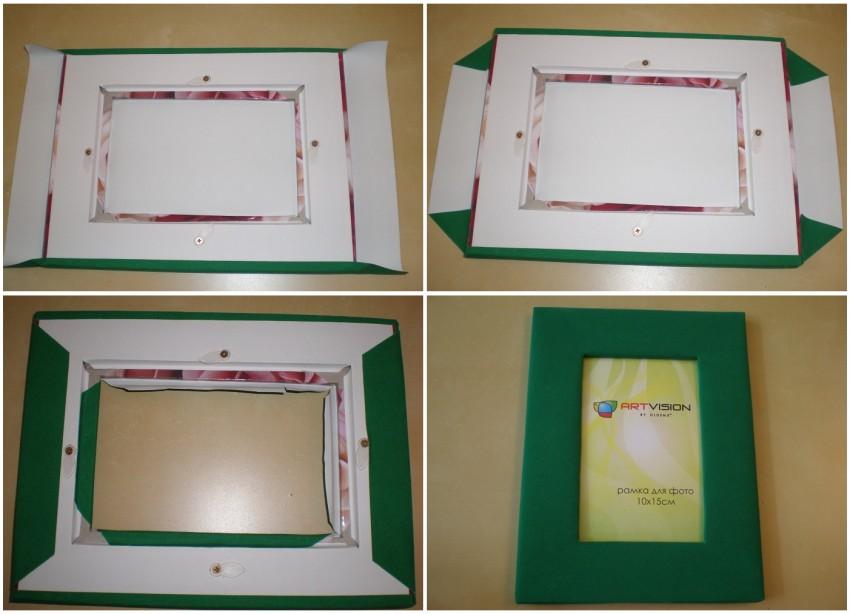 временем они рамка для фото своими руками из бумаги нас офисе