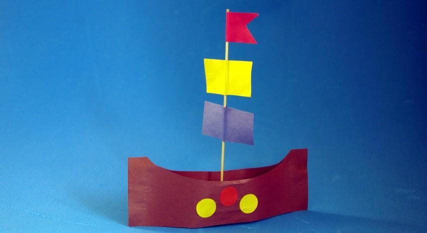 Корабль из дерева своими руками для детей