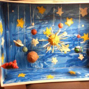 Поделка космос: лучшие идеи простых и интересных поделок ко дню космонавтики (95 фото)