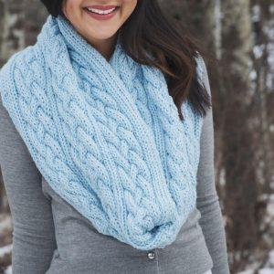 Как связать шарф хомут — современные модели и схемы вязания для начинающих спицами и крючком (125 фото и видео)
