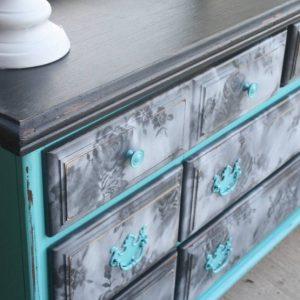 Красивый декупаж мебели — лучшие идеи и рекомендации как украсить старую мебель своими руками (105 фото)