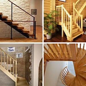 Типы лестниц для частного дома и дачи