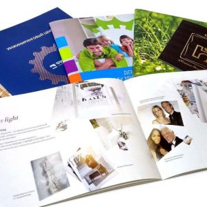 Типография: печать рекламных буклетов, проектной документации